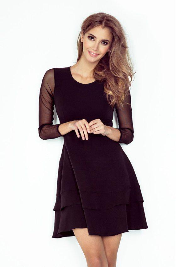Elegantné dámske oblečenie na každú príležitosť (čierne) 822c60ac216