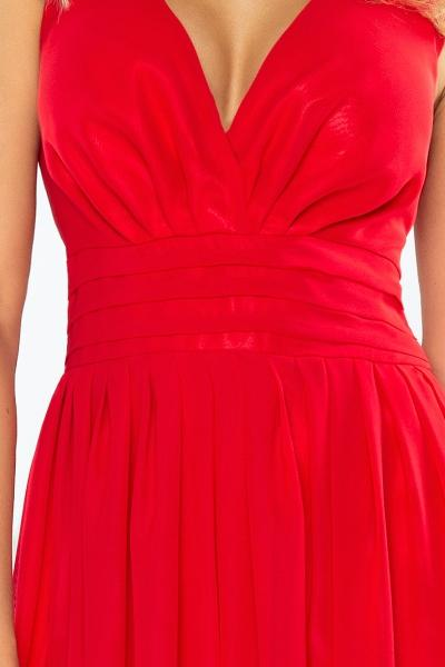 4708e989c7b9 166-2- dlhé večerné šaty šifónové- červené