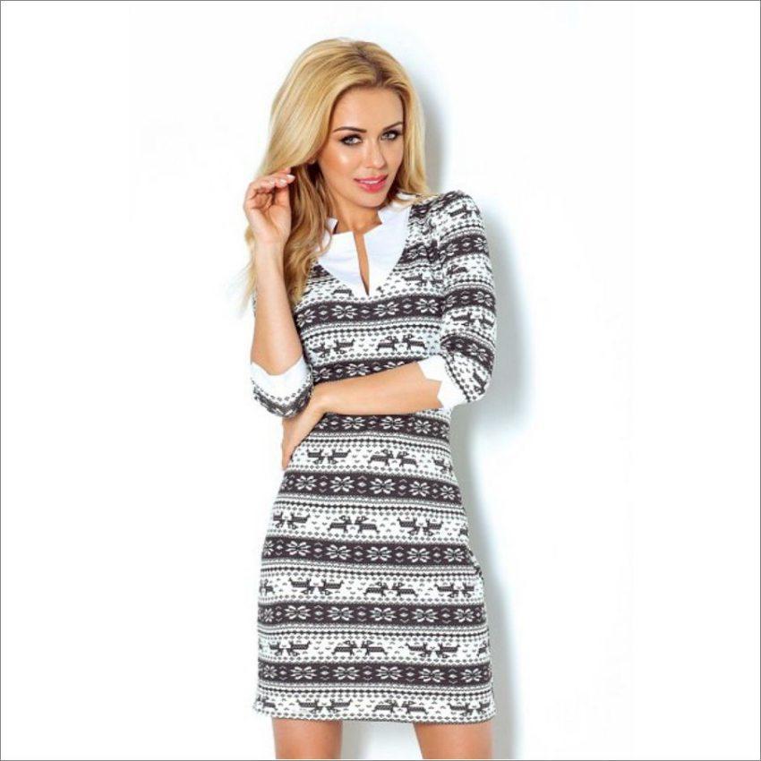 Elegantné šaty do práce e5760064de3