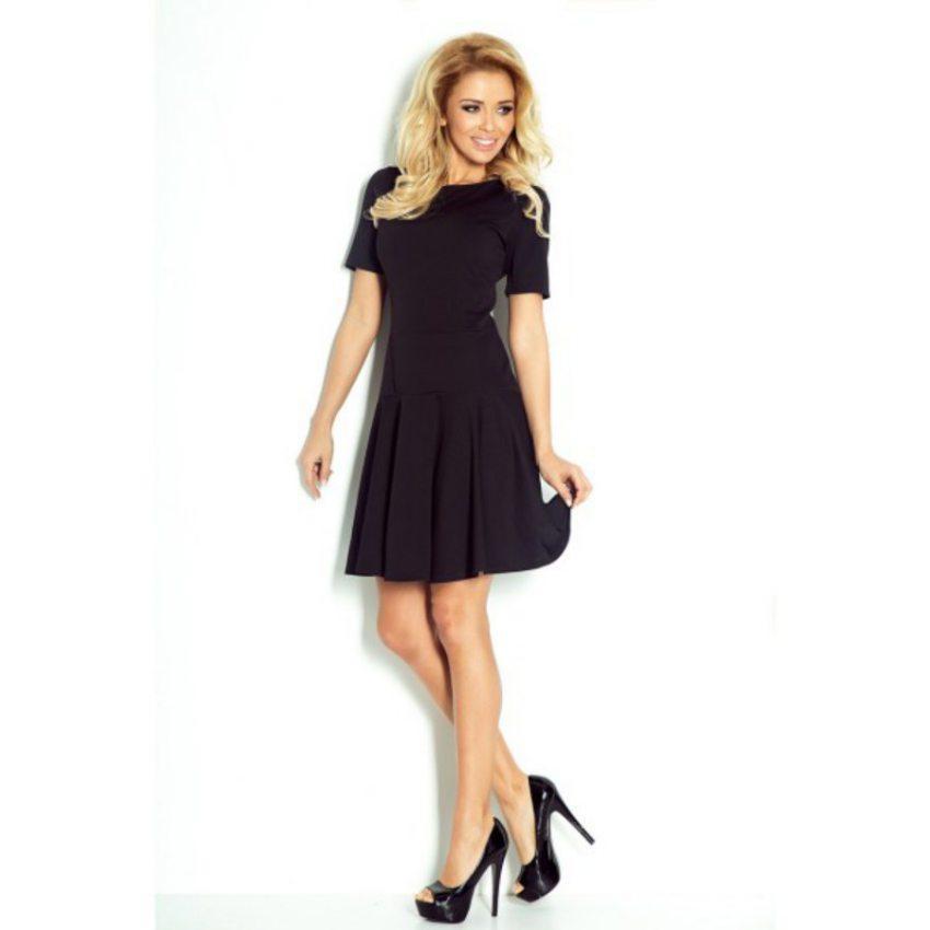 Elegantné čierne šaty 76-1 1ea2a89a032