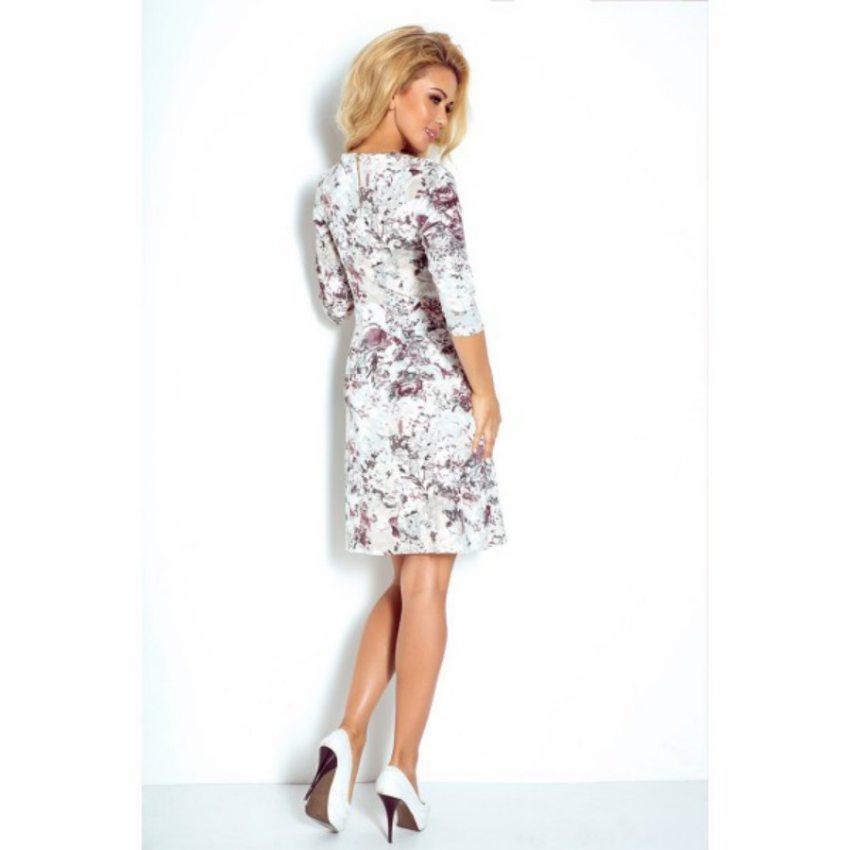 a38d1cd0a30a Elegantné šaty s kvetinkovým vzorom