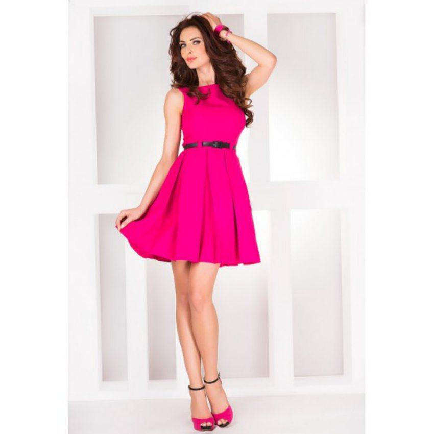 Elegantné šaty s opaskom 45950674cf6
