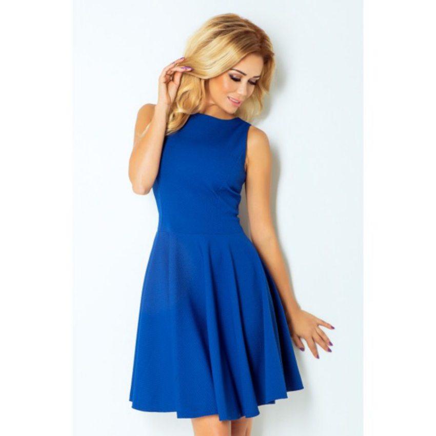 Elegantné modré šaty e58197de052