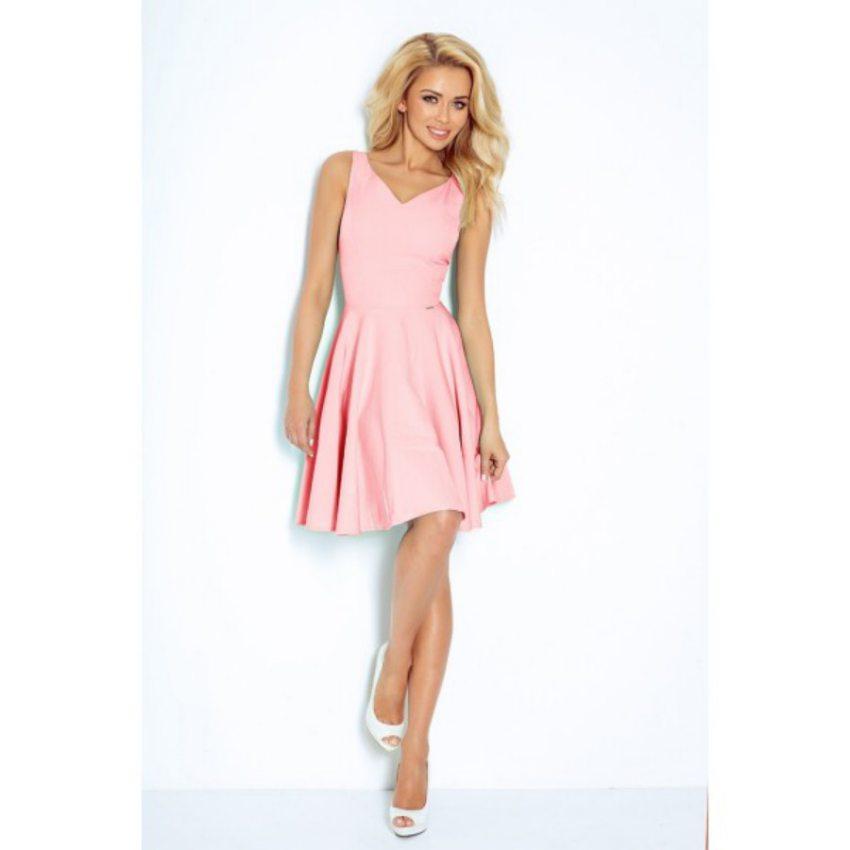 5d237e2562c8 Elegantné pastelovo ružové šaty
