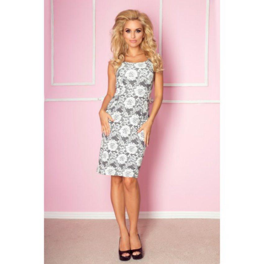734a1cd98b11 Dámske elegantné šaty. Úzke tubové šaty s čipkovaným vzorom