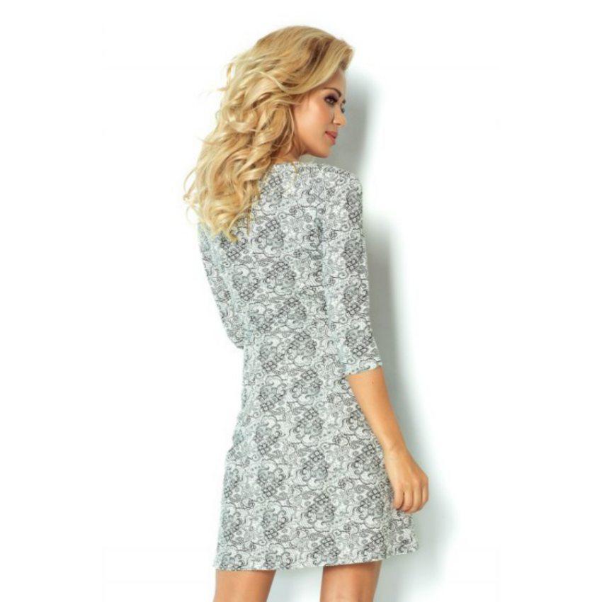 eeffb7cf0f00 Elegantné šaty s čipkovaným vzorom