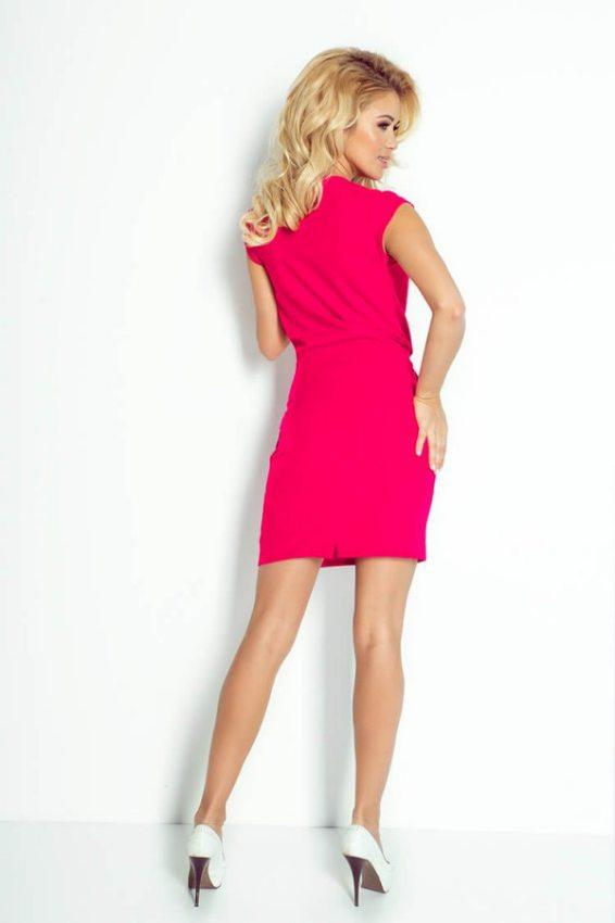 995eed15cd2c Športovo elegantné mini šaty - ružové 94-9
