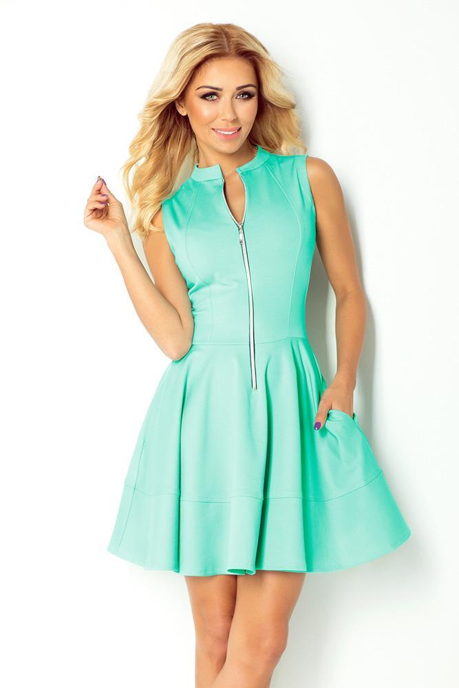 2b8bdae36f88 Športovo elegantné modré šaty
