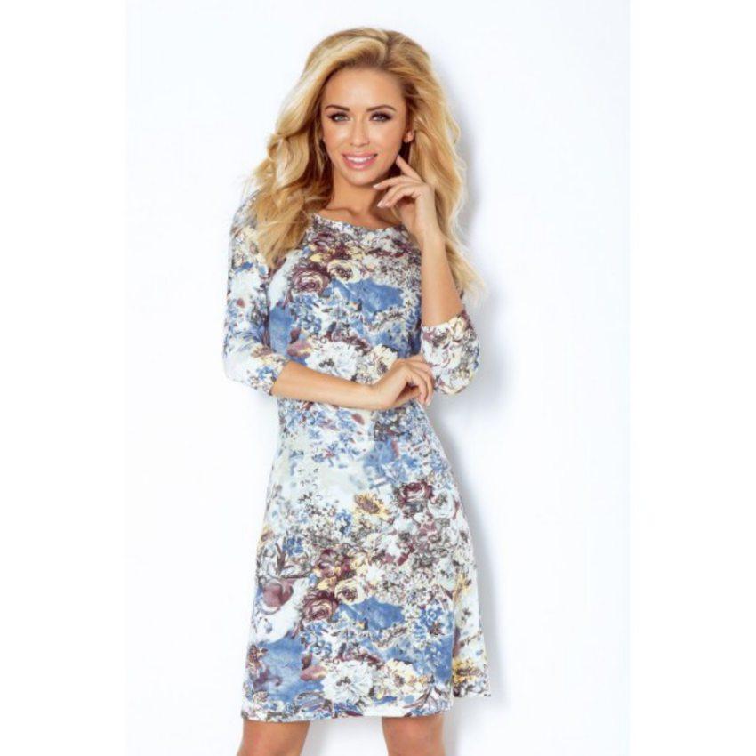 40d90938a11d elegantné dámske šaty s kvetinkovým vzorom a krátkou sukňou