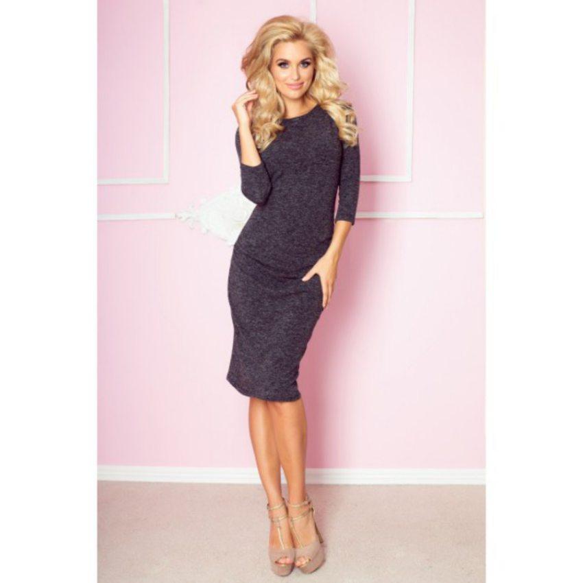 Pohodlné elegantné čierne šaty 67c28d4c71e