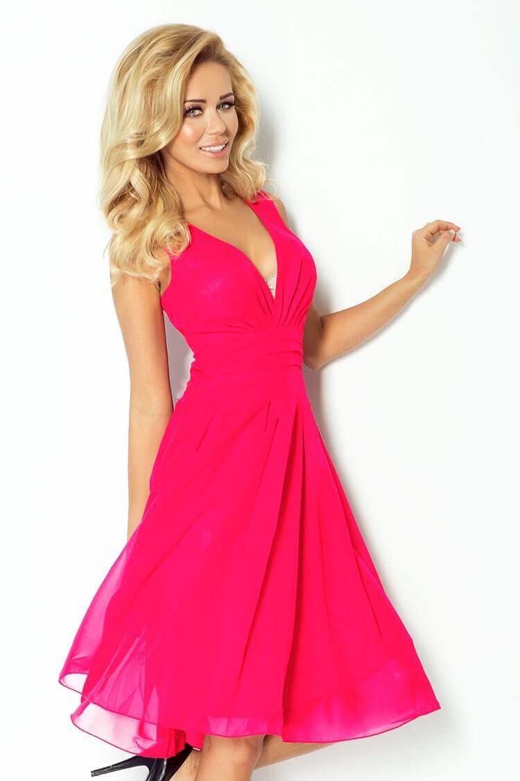 77fd687572fe Výpredaj  Výpredaj - večerné koktejlové šaty ružové 35-7