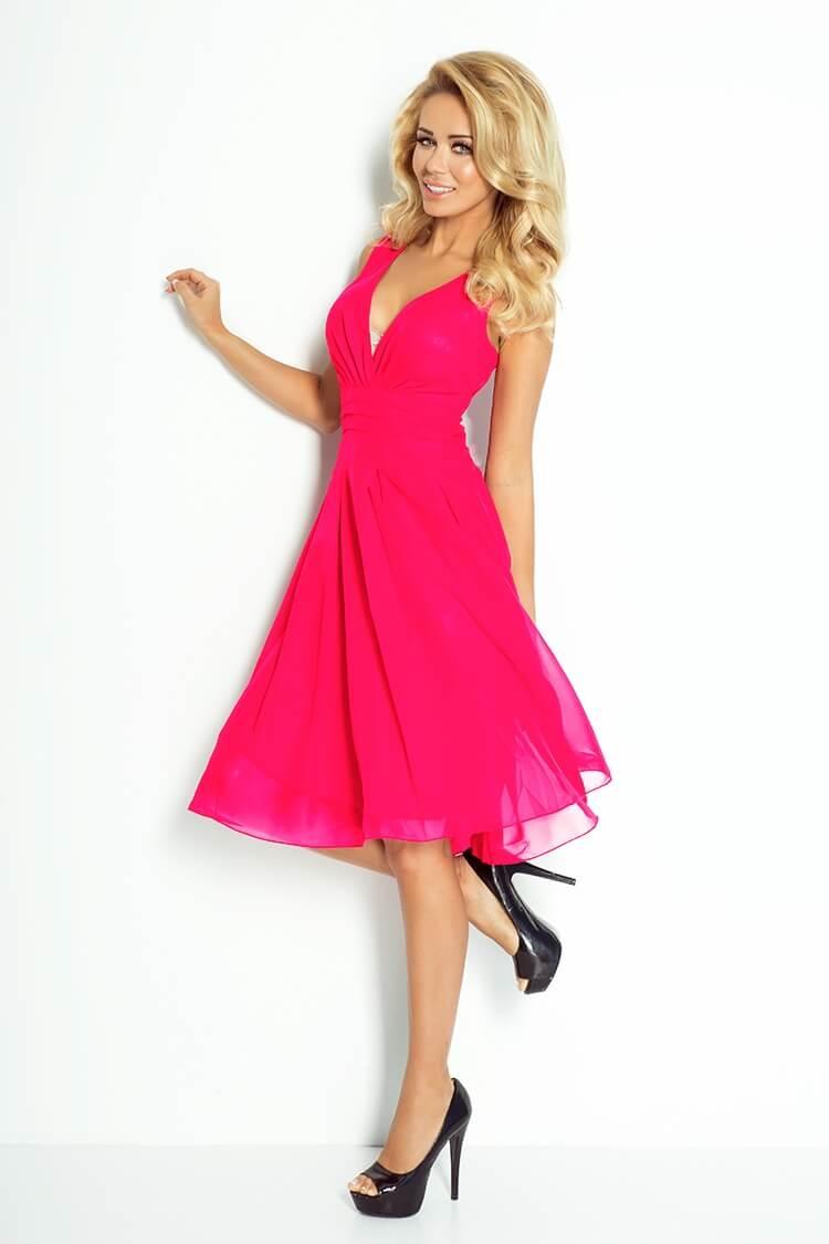 ca404ca5a20a Výpredaj  Výpredaj - večerné koktejlové šaty ružové 35-7